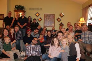 I can't wait to spend Christmas with this big crew!