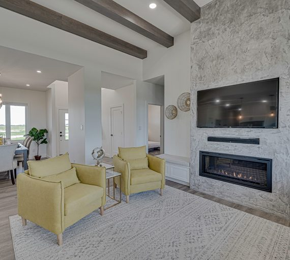Southern Belle living space